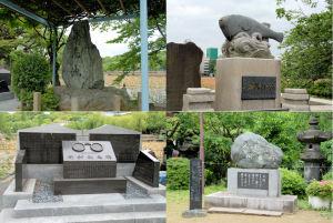 不忍池周辺記念碑