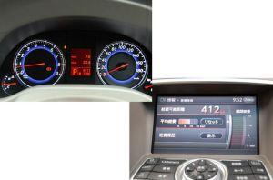 V36メーター、走行距離、燃費