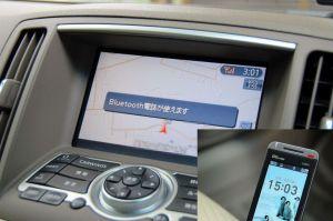 Bluetooth携帯電話
