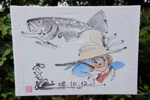 釣りキチ三平(矢口高雄画)