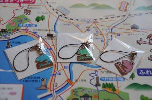 イルカの携帯ストラップ(逗子市観光協会)