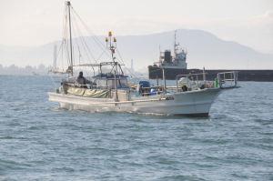 瀬戸内の漁船