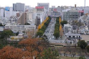 南は姫路駅方面がよく見えます