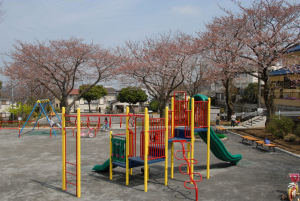 リニューアルされた地域の公園