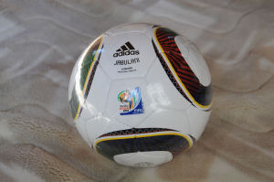 記念のサッカーボール