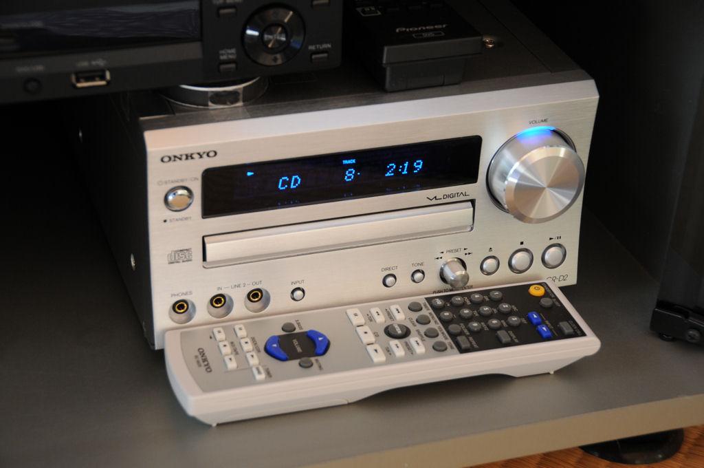 ONKYO CR-D2(S) CD/FMチューナーアンプ