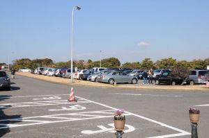 県立城ヶ島公園駐車場