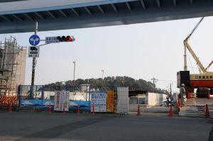 シーサイドライン「野島公園駅」前