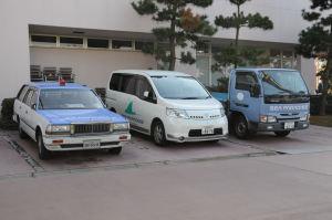 横浜・八景島の日産車