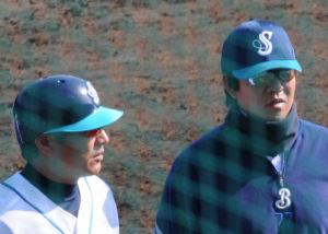 中根、鈴木(尚)両コーチ