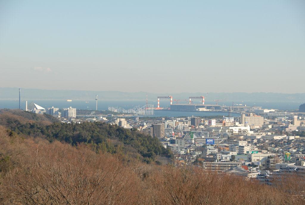 東京湾から房総半島まで見渡せます