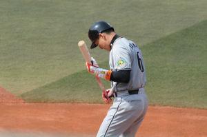 阪神・金本選手
