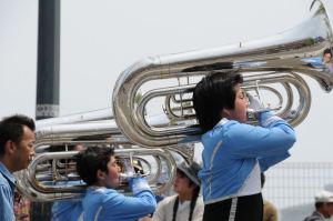 潮田中学校マーチングバンド