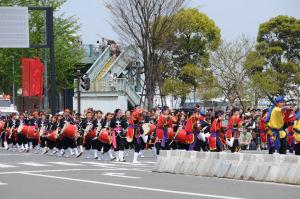 スーパーパレード№28番琉球國祭り太鼓
