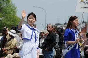 横浜開港祭親善大使のお嬢さん
