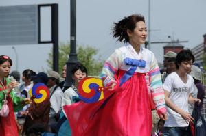 NPO韓国民団農楽隊と在日韓国青年会