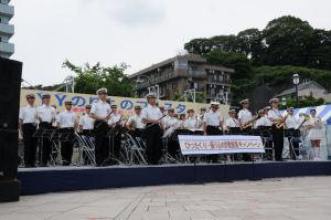 県警音楽隊演奏