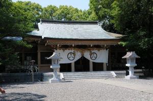 山内神社本殿