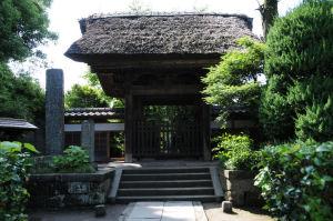 極楽寺山門
