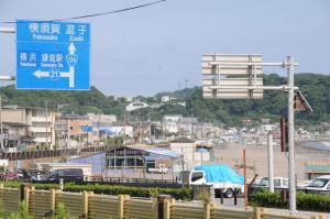 由比ヶ浜海岸には海の家