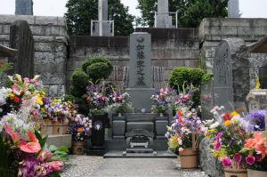 日野公園墓地・ひばりさん命日