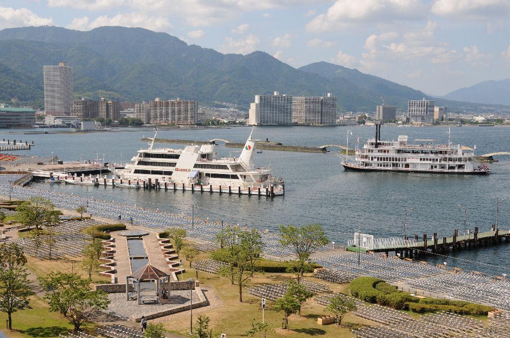 琵琶湖・大津港