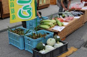 新鮮な農産物の直売