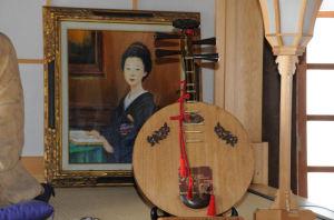長崎で習った月琴