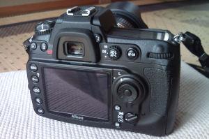 Nikon D300s背面