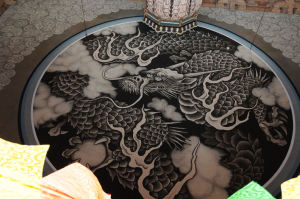 法堂の天井画