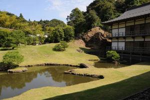 禅宗を象徴する庭園があります