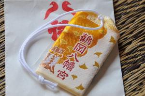 黄色い大銀杏のデザイン
