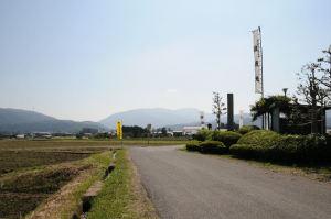 関ヶ原合戦場、南側