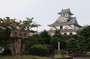 豊公園内・長浜城