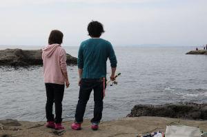大物が釣れました。(*^-^)ニコ