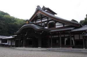 庫裡、寺院の僧侶の居住する場所
