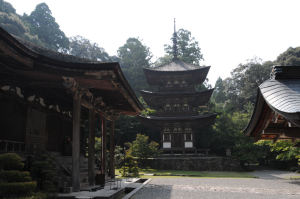 三重の塔、鎌倉時代後期建立