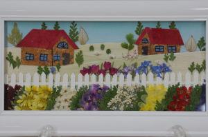 「押し花」の展示作品