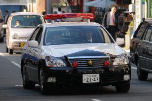 茨城県警のパトカー