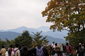 先まで行くと「富士山」が見えました