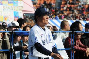 「09年ファン感謝デー」での田代二軍監督