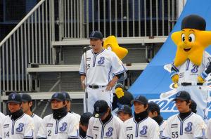 村田選手会長の挨拶
