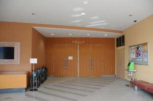 市民ホール入口