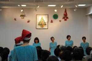 クリスマスソングを歌いました