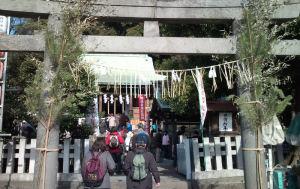 「瀬戸神社」に初参り