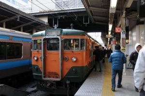 横浜駅、東海道線「5番線ホーム」