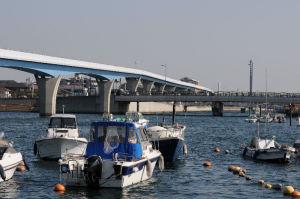平潟湾と『野島公園駅』