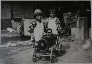 弟(叔父さん)と、昭和3年8月