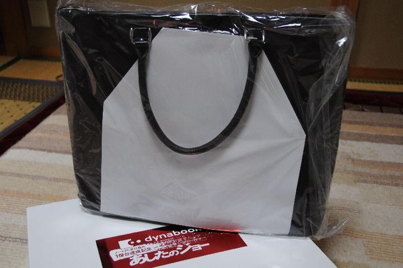 本革製のPCバッグ
