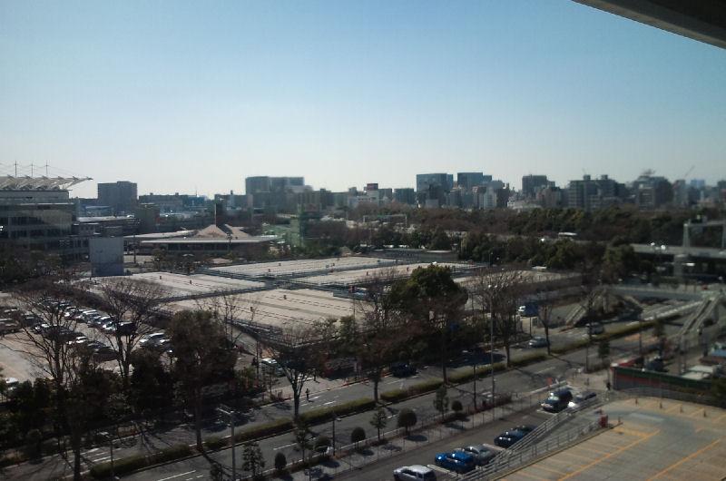 大井競馬の駐車場
